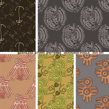 Seamless Ethnic Patterns image 2