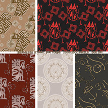 Seamless Ethnic Patterns image 3