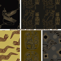 Seamless Ethnic Patterns image 5