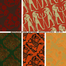 Seamless Ethnic Patterns image 7