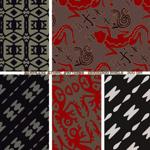 Seamless Ethnic Patterns image 9