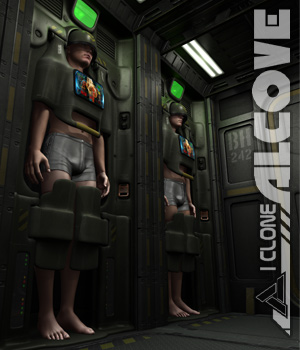 I Clone Alcove for Poser and DS 3D Models coflek-gnorg