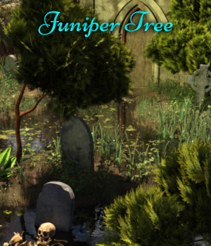 Juniper Tree Props And Mirrored Versions For Daz Studio Iray 3D Models fictionalbookshelf