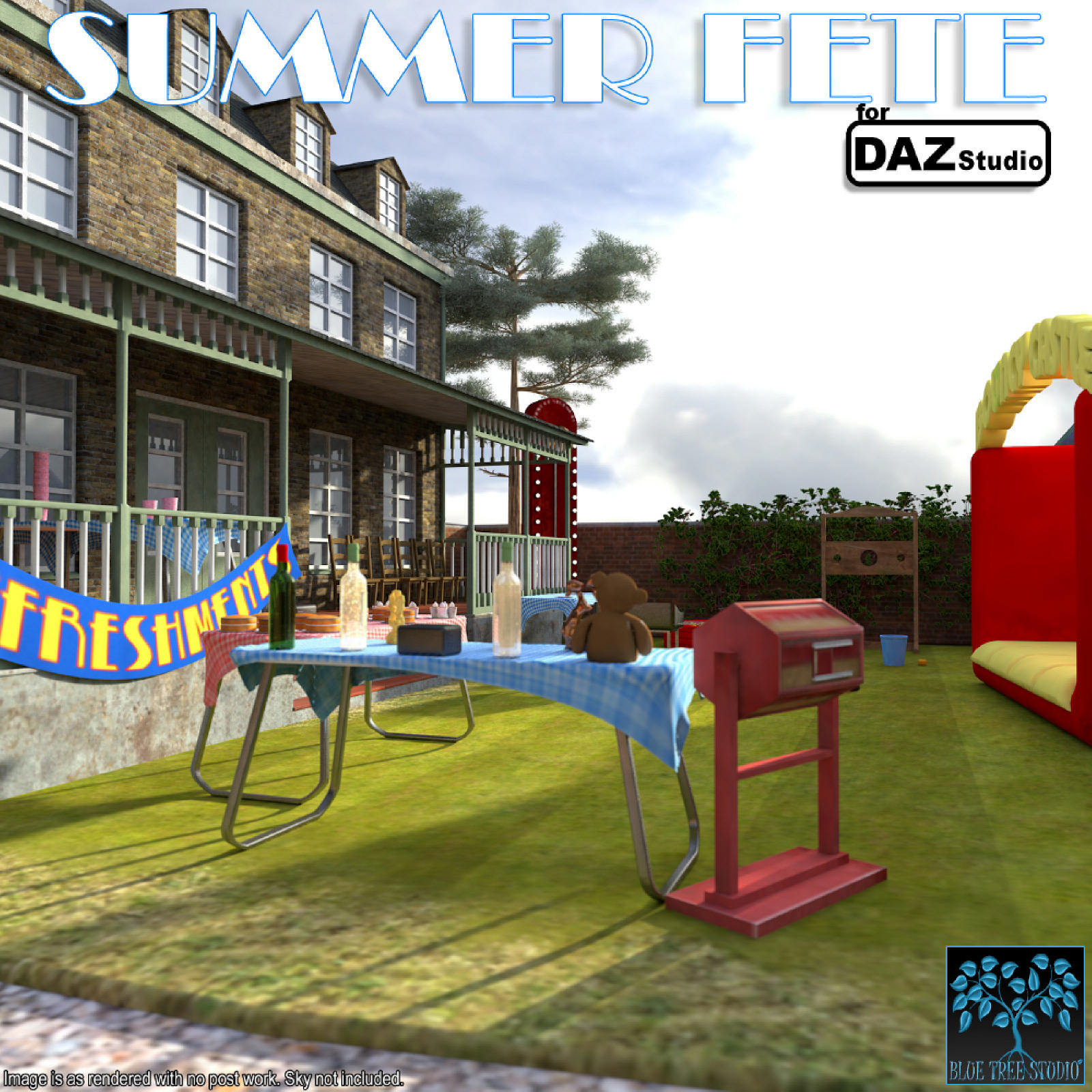 Summer Fete for Daz Studio by BlueTreeStudio