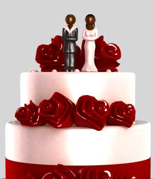 Wedding Cake 3D Models Maikiely
