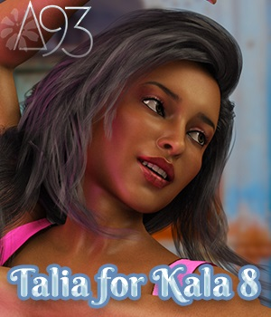 Talia for Kala 8 3D Figure Assets anjeli93