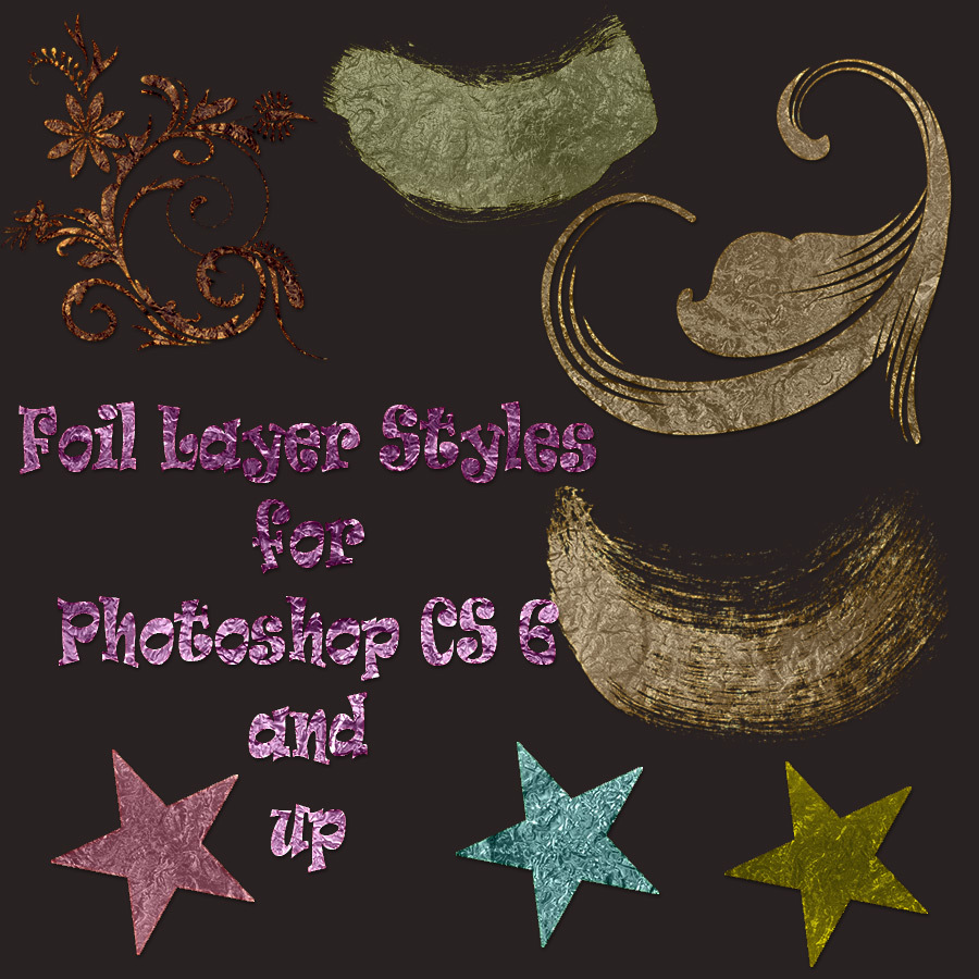 Foil Layer Styles