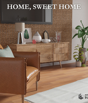 Home, sweet home for Daz Studio 3D Models avadagra