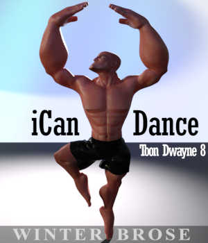 iCan DANCE Poses for Toon Dwayne 8 (TD8) 3D Figure Assets Winterbrose