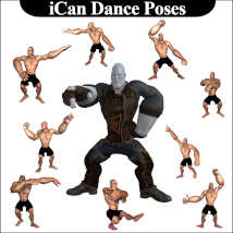 iCan DANCE Poses for Toon Dwayne 8 (TD8) image 2