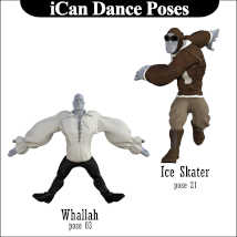iCan DANCE Poses for Toon Dwayne 8 (TD8) image 4