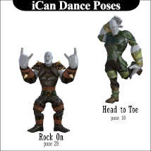 iCan DANCE Poses for Toon Dwayne 8 (TD8) image 5