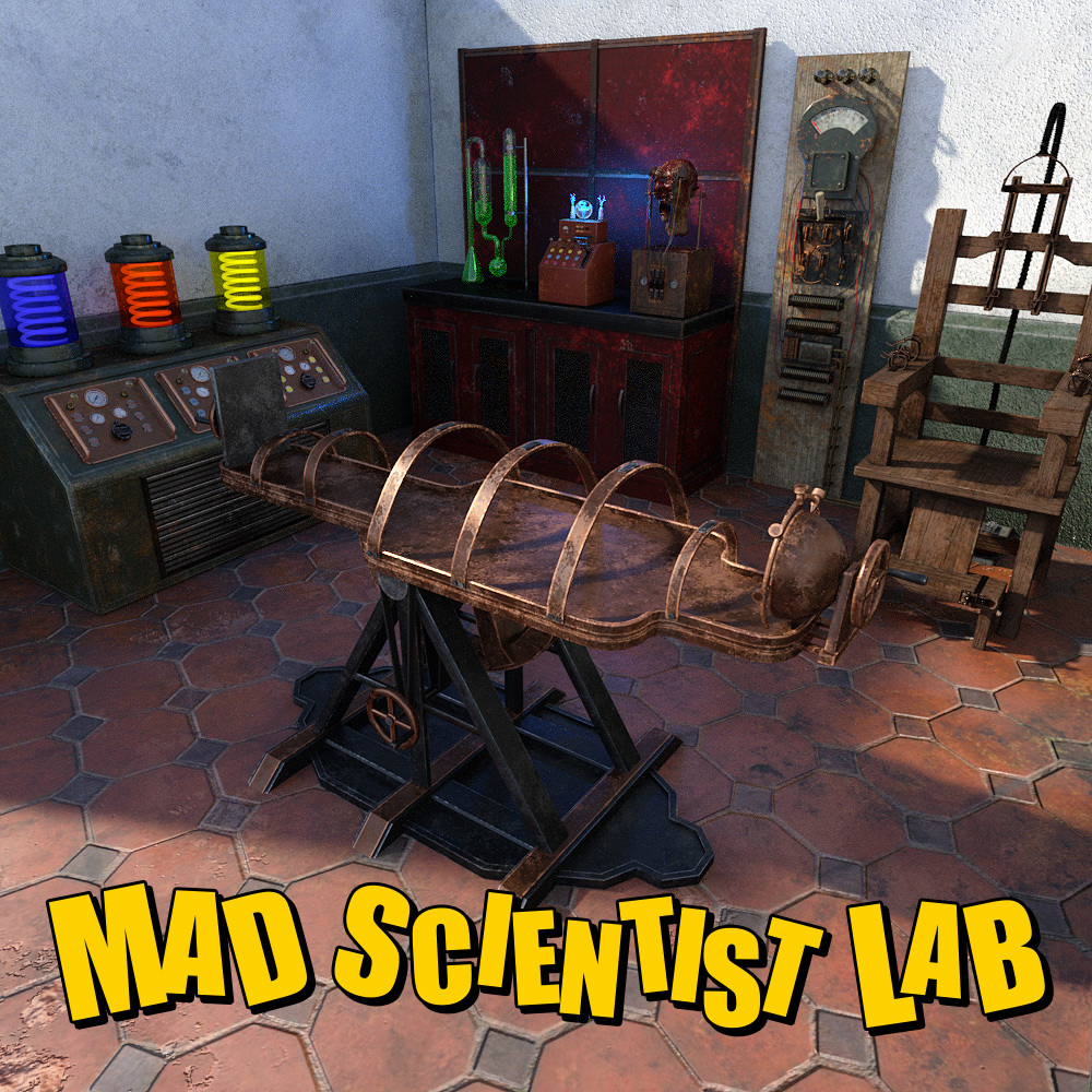 MAD Scientific LAB for DS Iray by powerage