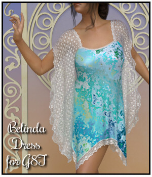 dForce - Belinda Dress for G8F