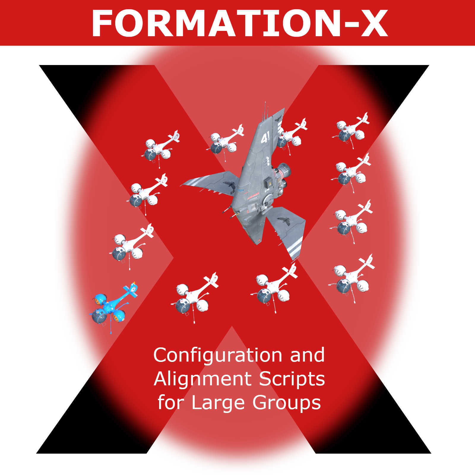 Formation-X, Configuration and Alignment Scripts for Large Groups in Daz Studio