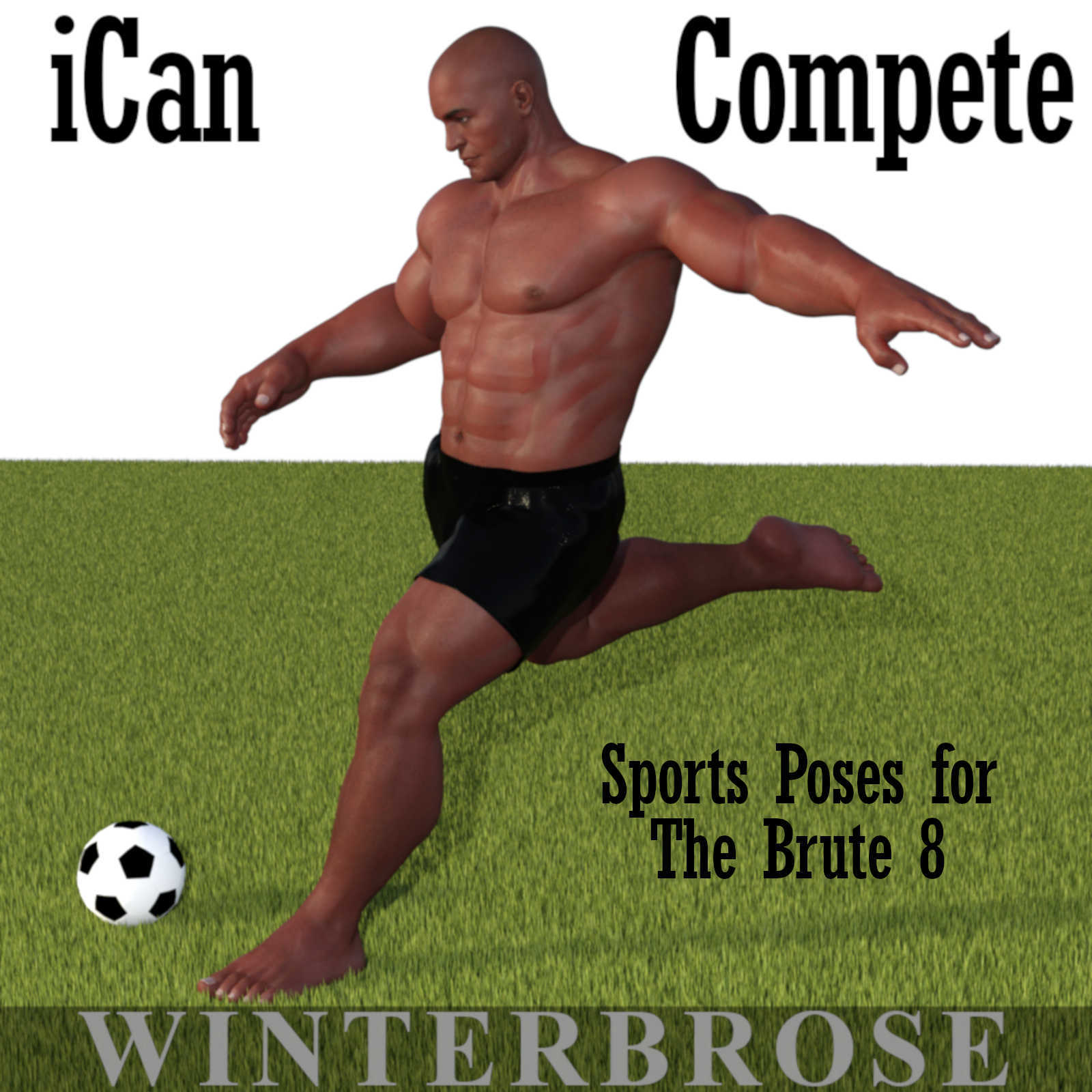 iCan COMPETE Sports Poses for The Brute 8