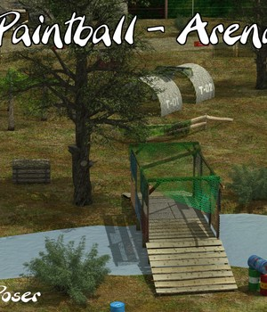 Paintball arena 3D Models mausel