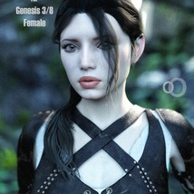 SC Taavi Hair for Genesis 3 and 8 Female image 3
