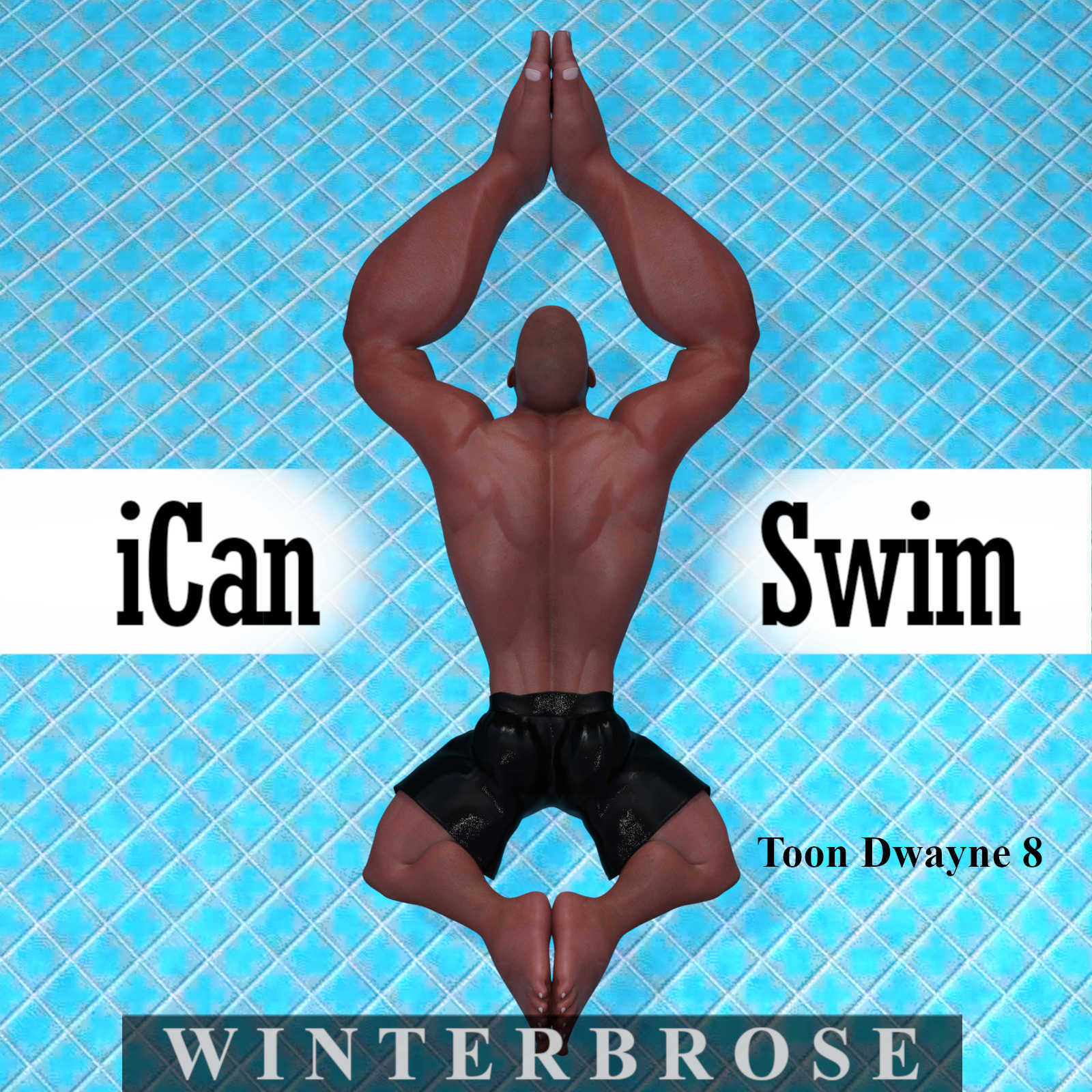 iCan SWIM, Swimming Poses for Toon Dwayne 8