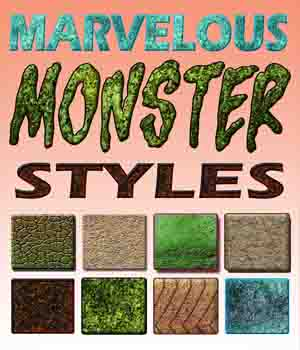 Marvelous Monster Styles 2D Graphics Merchant Resources sjph-art