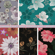 Seamless Floral Patterns image 5