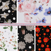 Seamless Floral Patterns image 6