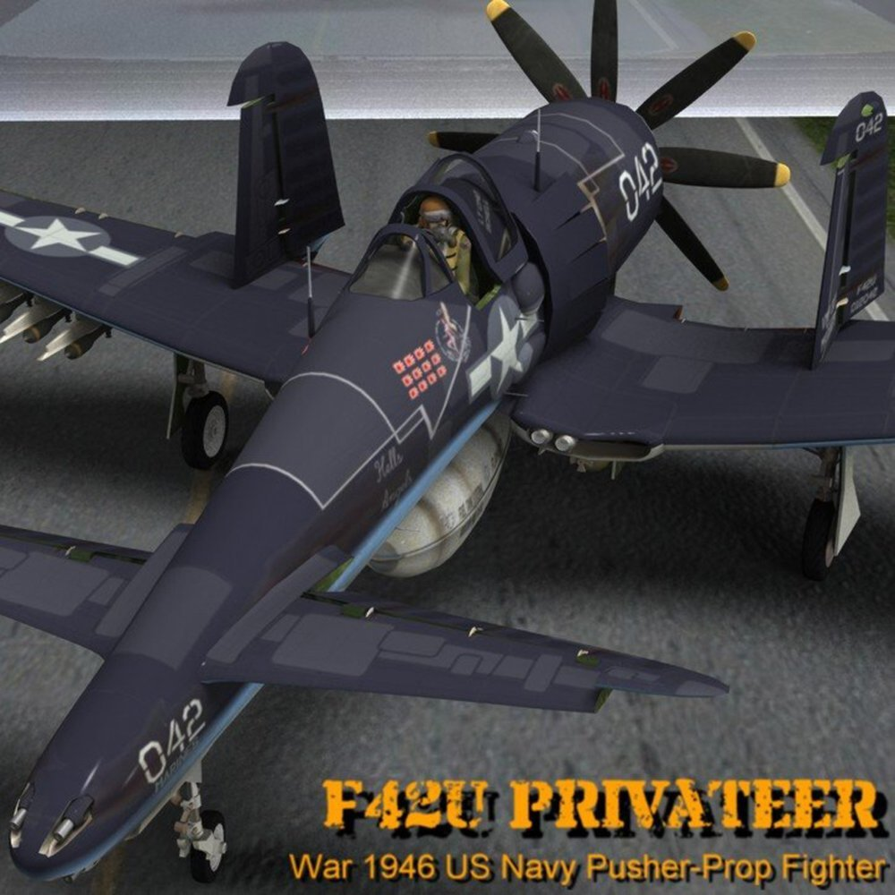 F42U Privateer for Poser