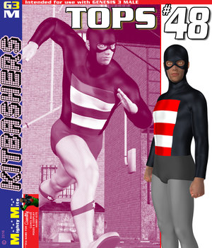 Tops 048 MMKBG3M 3D Figure Assets MightyMite