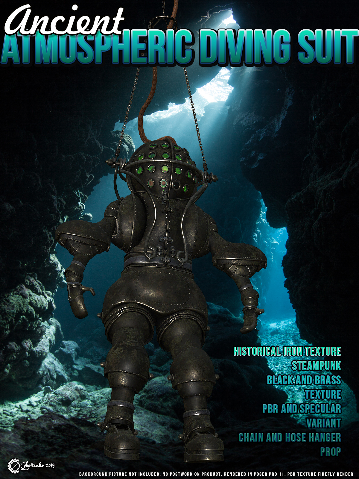 Ancient Atmospheric Diving Suit