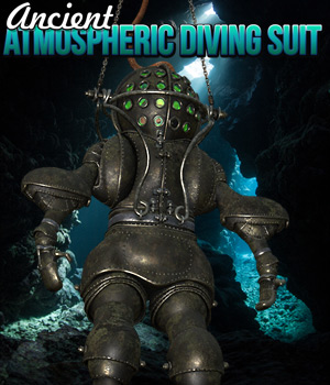 Ancient Atmospheric Diving Suit 3D Models Cybertenko