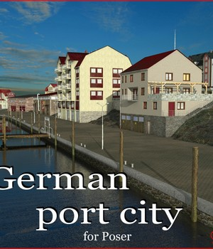 German port city 3D Models mausel