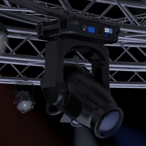 TV Studio Stage Truss and Lights - Extended License image 8