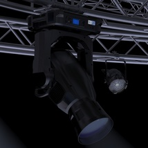 TV Studio Stage Truss and Lights - Extended License image 10