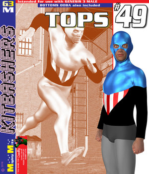 Tops 049 MMKBG3M 3D Figure Assets MightyMite
