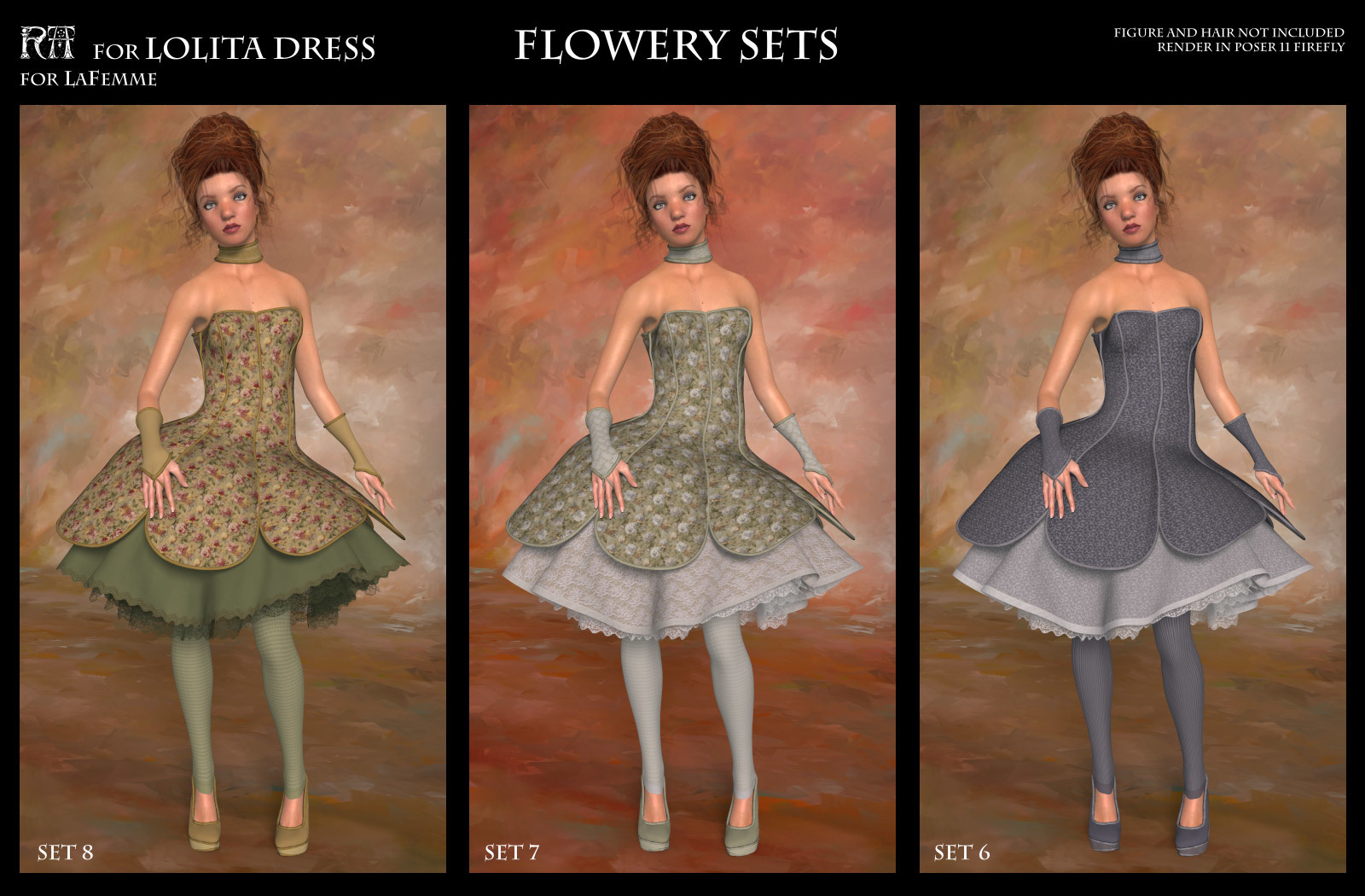RA for Lolita Dress by RAGraphicDesign