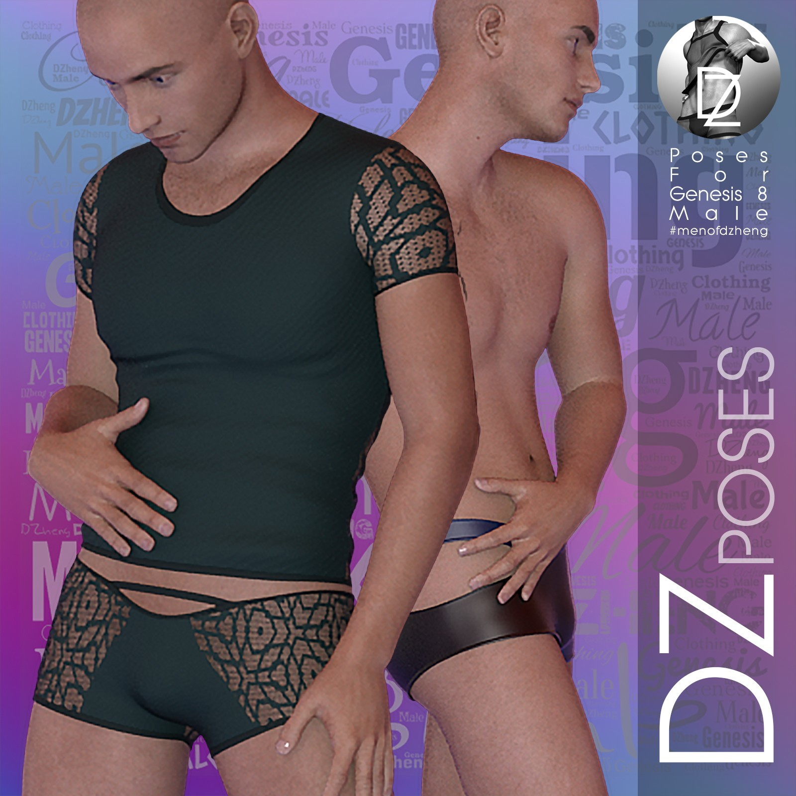 DZ G8M FashPoses - UnderGear Model by dzheng