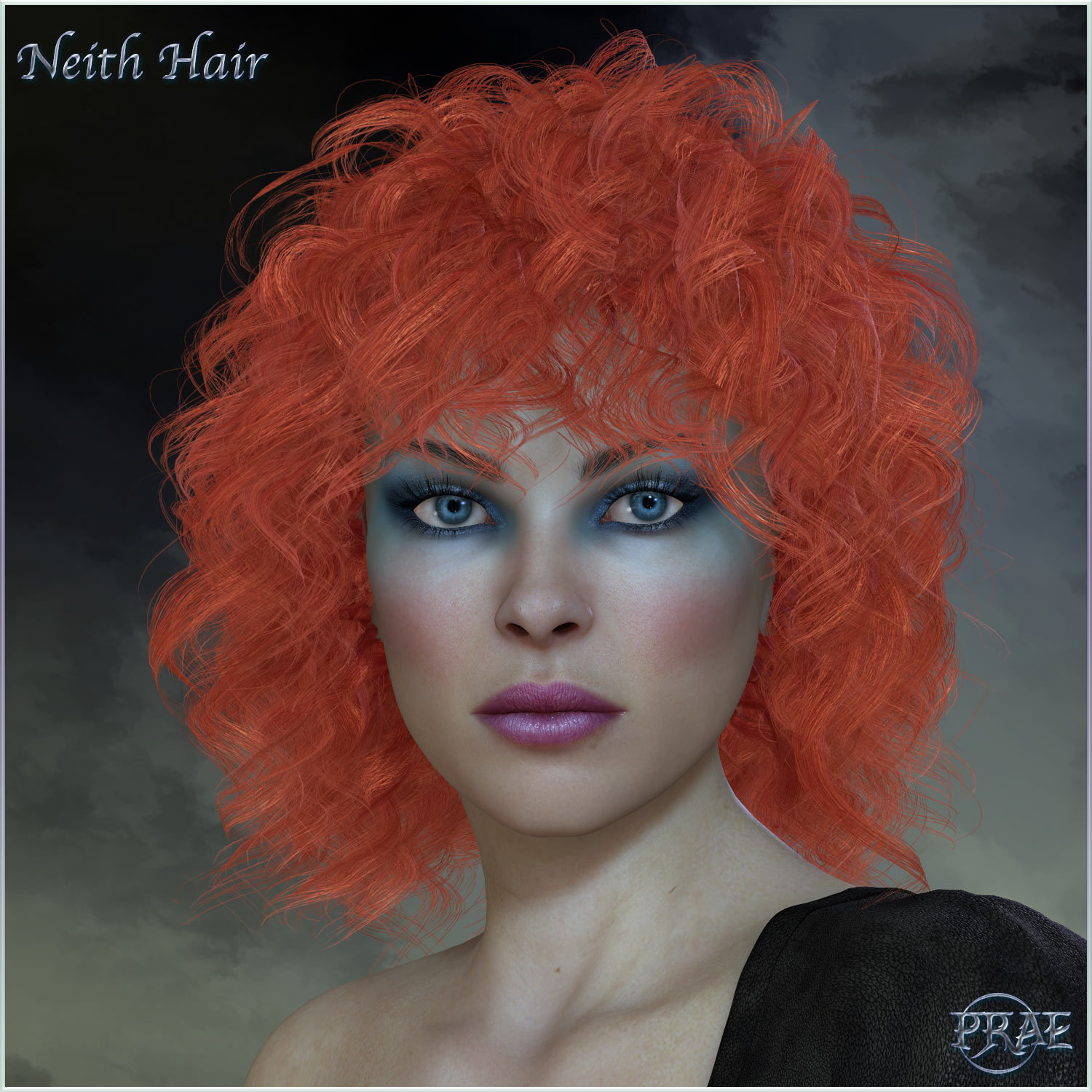 Prae-Neith Hair V4 Poser