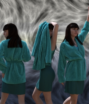 dForce Soft Sweaters Outfit for Genesis 8 Female 3D Figure Assets Aave