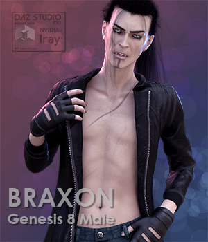 Braxon for Genesis 8 Male 3D Figure Assets LexaKiness