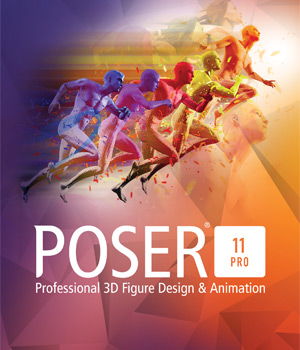 GERMAN - Poser Pro 11 Upgrade From Poser 10, 9, 8, 7, 6 or Poser Debut Poser Software La Femme Female Poser Figure 3D Software : Poser : Daz Studio Poser_Software