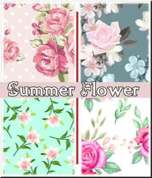 Summer Flower- Merchant Resource 2D Graphics Merchant Resources LUNA3D