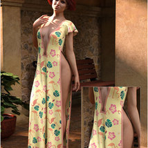 Styles for dForce - Romance Dress for G8F image 2