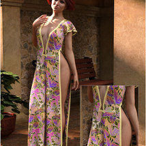 Styles for dForce - Romance Dress for G8F image 3