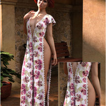 Styles for dForce - Romance Dress for G8F image 5