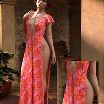 Styles for dForce - Romance Dress for G8F image 6