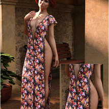 Styles for dForce - Romance Dress for G8F image 7