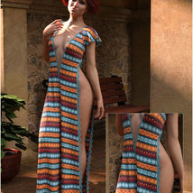 Styles for dForce - Romance Dress for G8F image 9