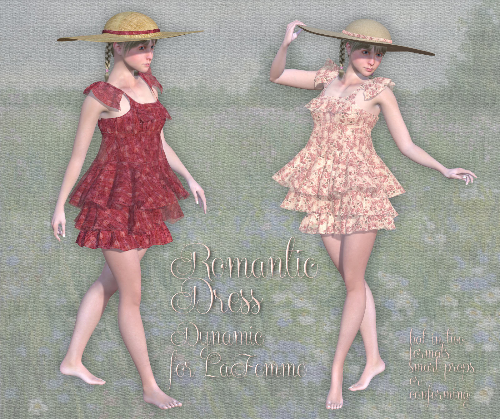 Romantic Dress for LaFemme