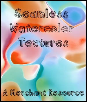 Seamless Watercolor Textures 2D Graphics Merchant Resources adarling97