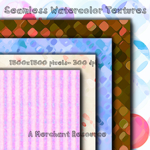 Seamless Watercolor Textures image 5